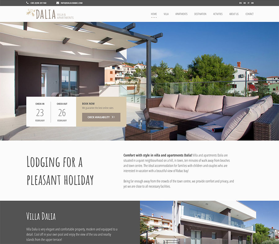 Dalia Villa and Apartments